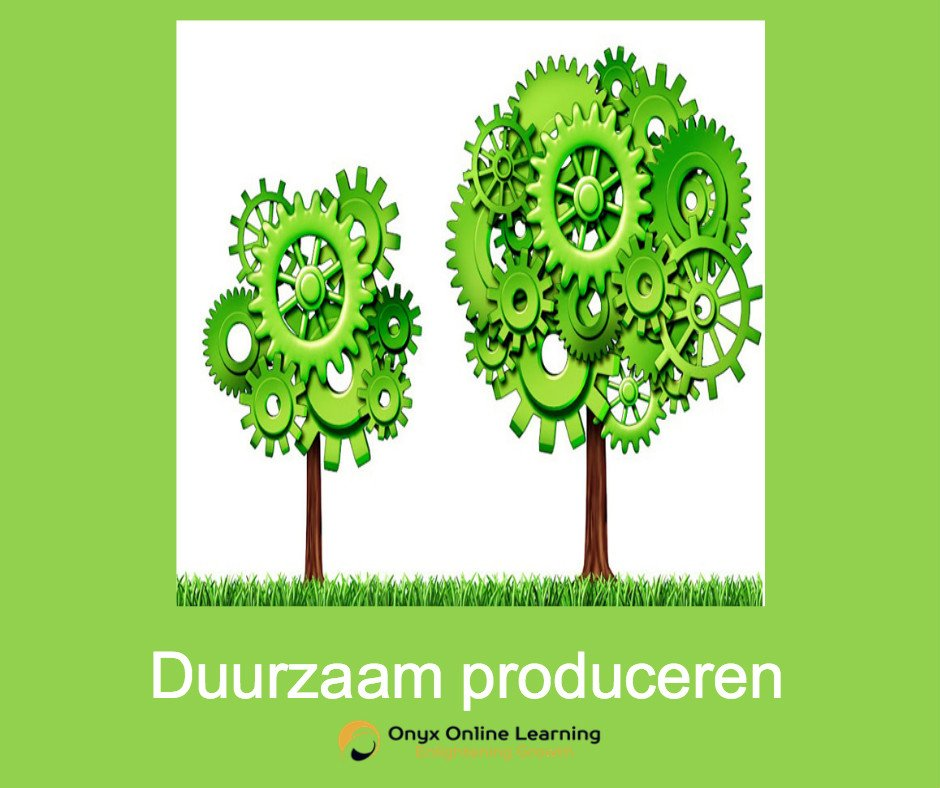Toolbox duurzaam produceren