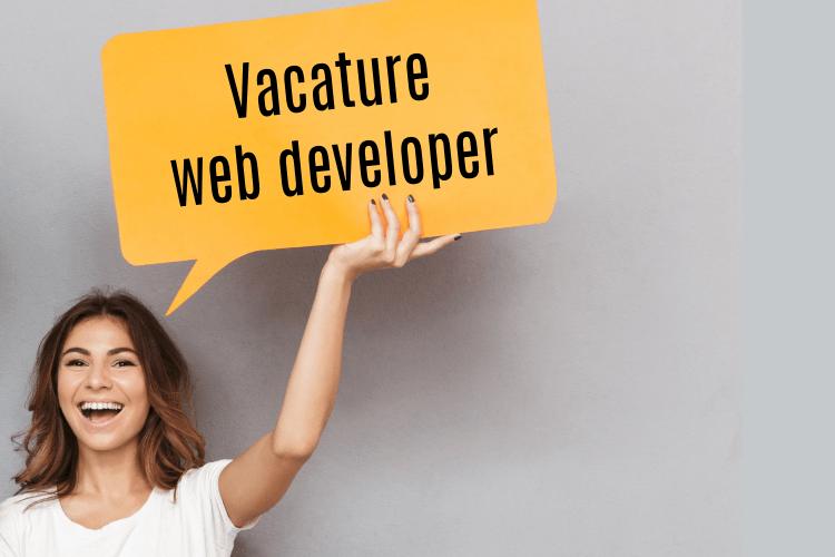 Vacature web developer