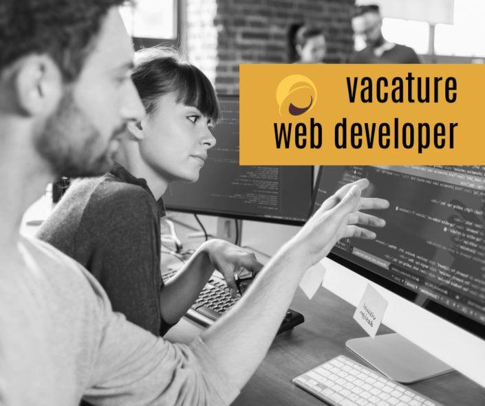 Vacature wed developer