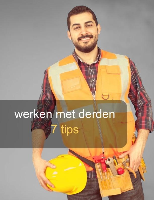 Werken met derden. contractor Management